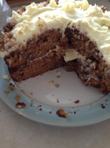Carrot Cake inside