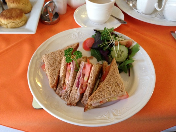 Ham and Tomato Sandwich