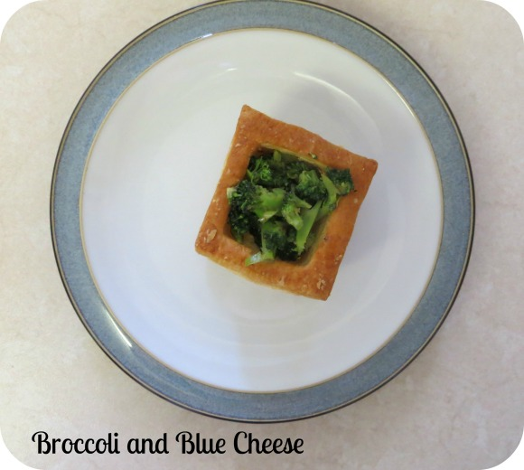 Blue cheese and broccoli