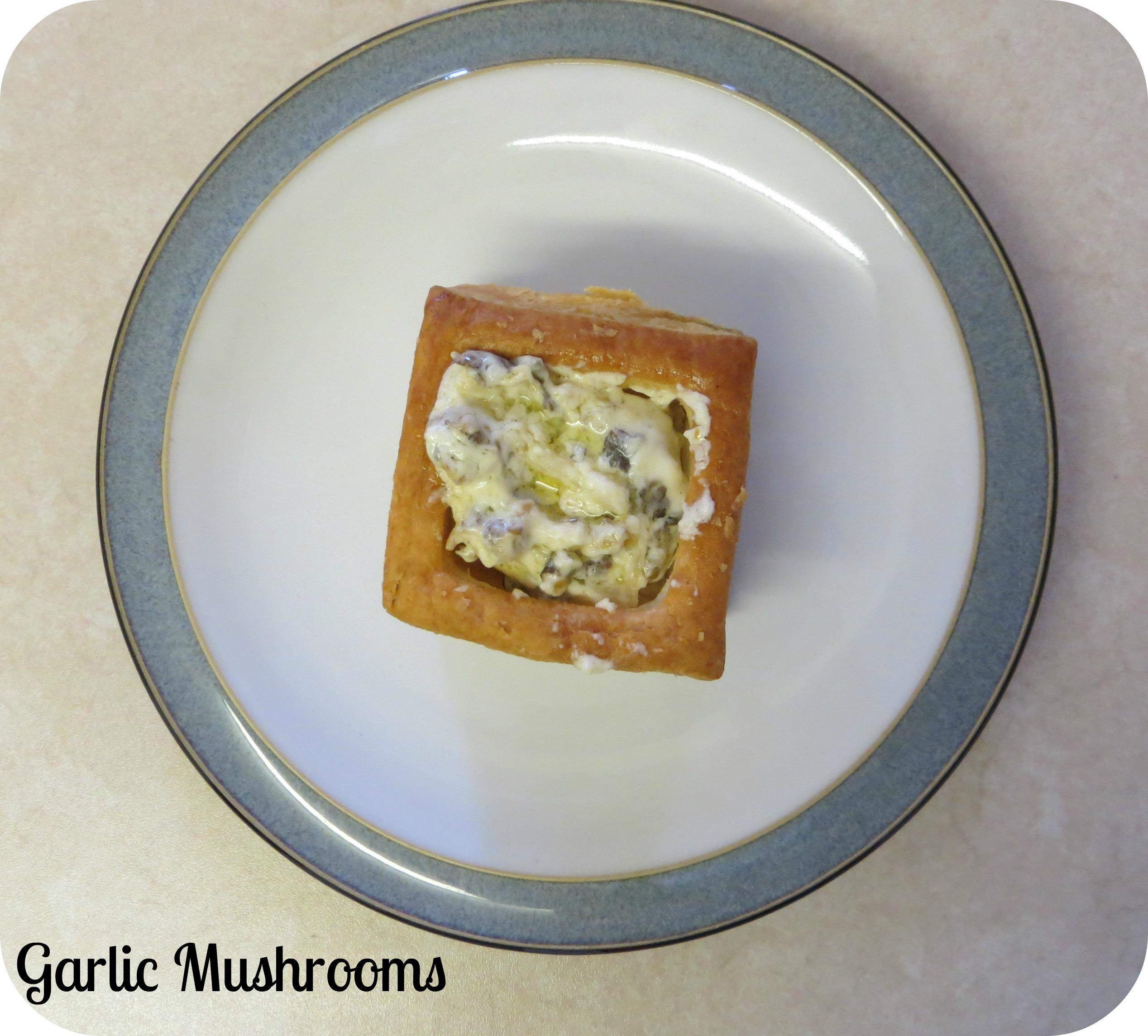 garlic mushroom