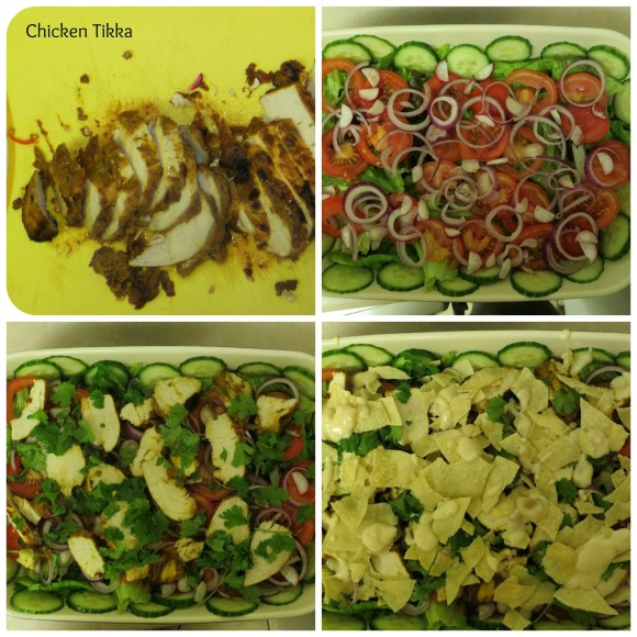 Chicken Tikka Salad