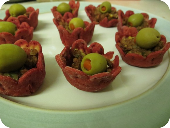 Piddy beetroot cups