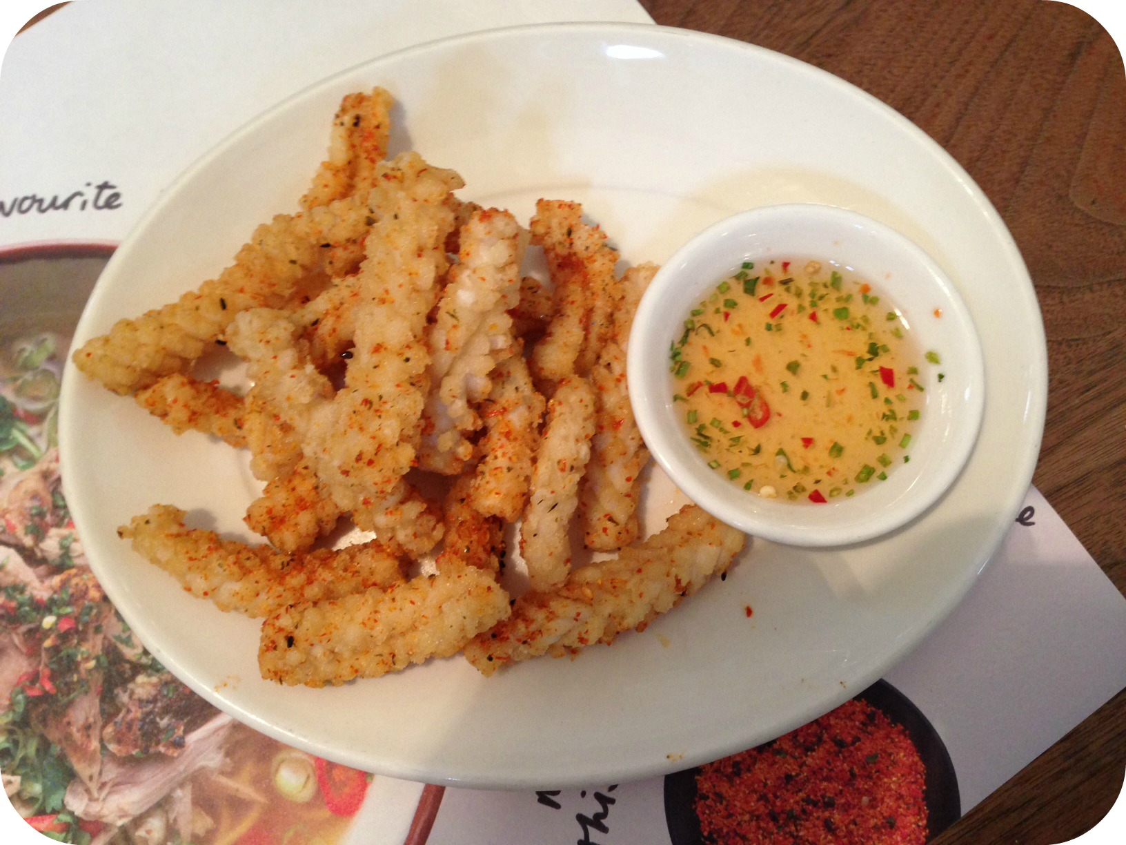 Chilli Squid